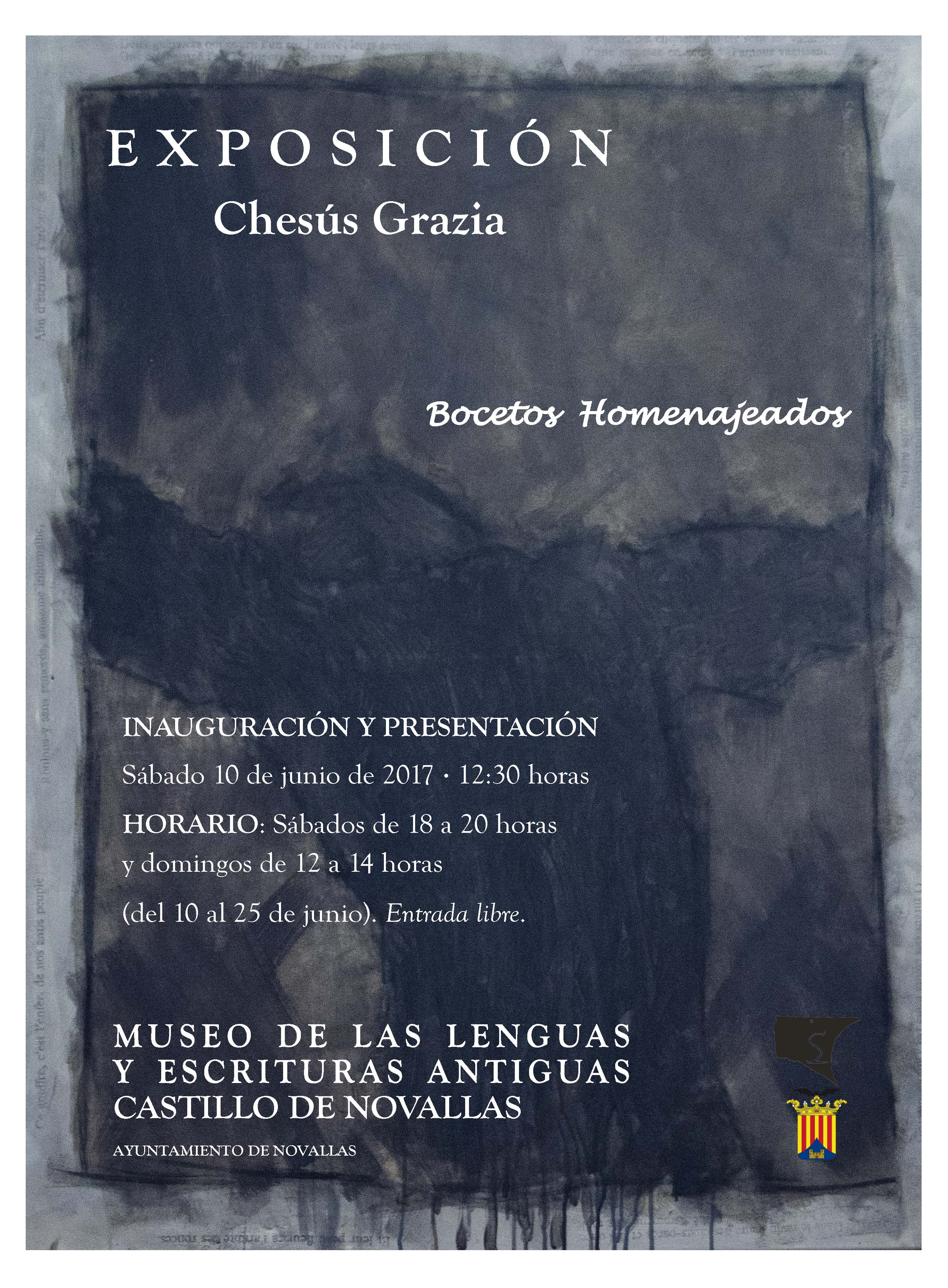 20170530 Chesus GraziaV2 cartel