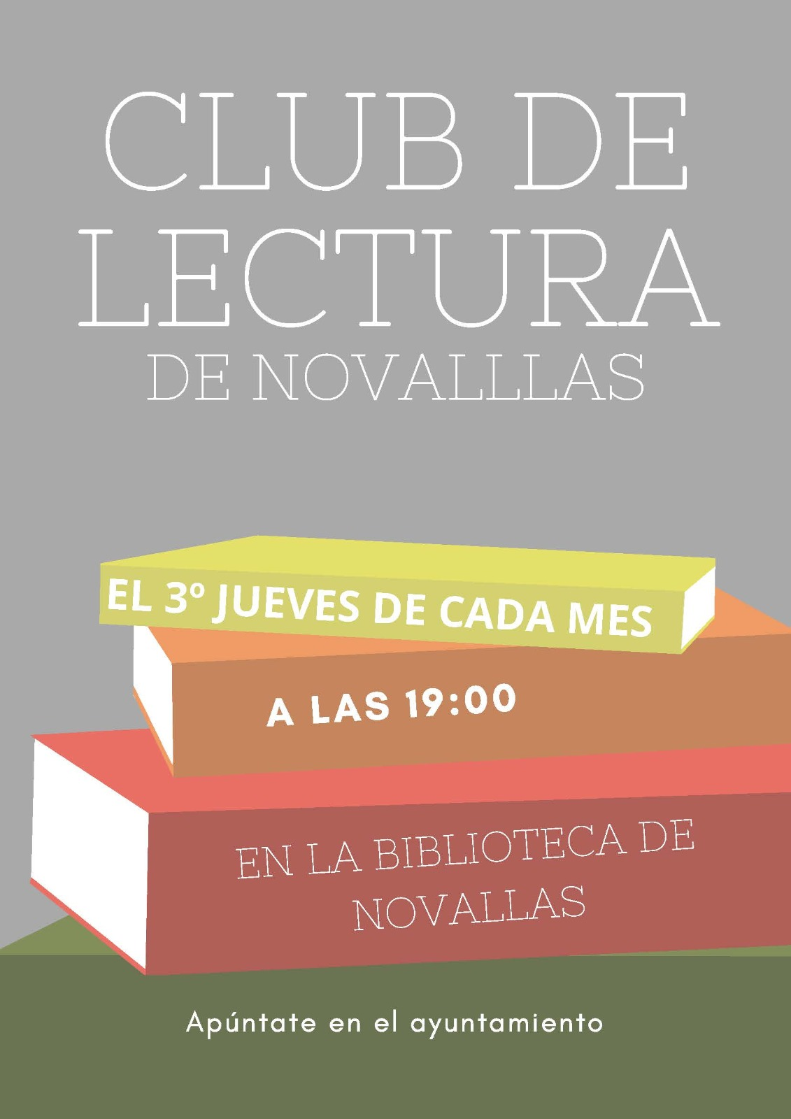 20191100 clubdelectura cartel